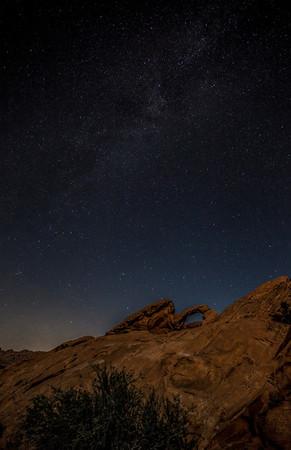 Arch Rock & Milky Way