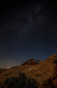 Arch Rock & Milky Way