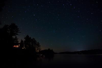 Jack Lake, Big Dipper, Apsley, Ontario, Canada.