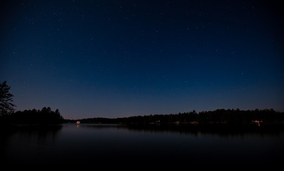 Jack Lake by Moonlight