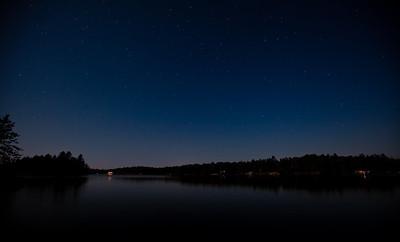 Jack Lake by Moonlight