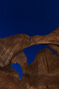 Double Arch, Arches NP, Utah.