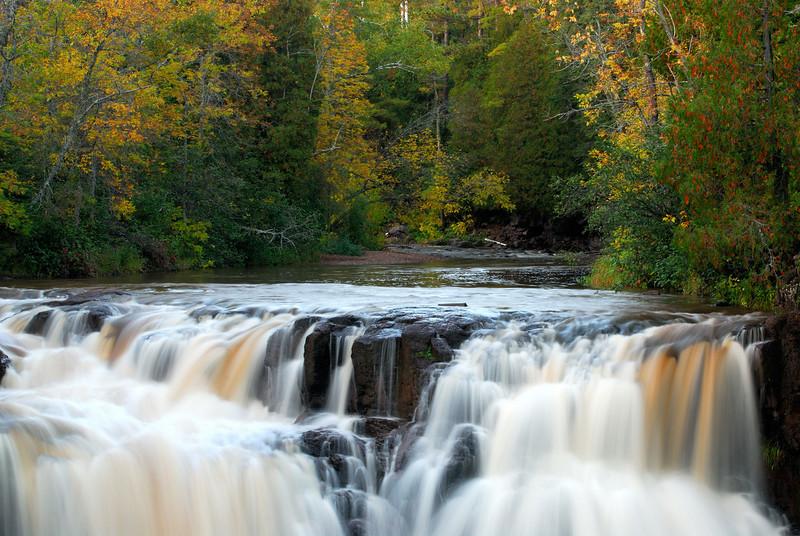 Upper Falls - Gooseberry State Park