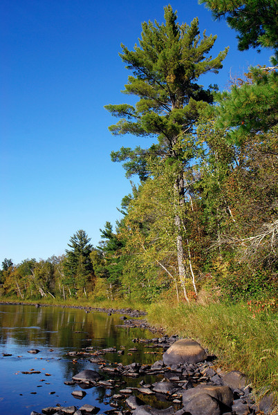 Kettle River in early fall