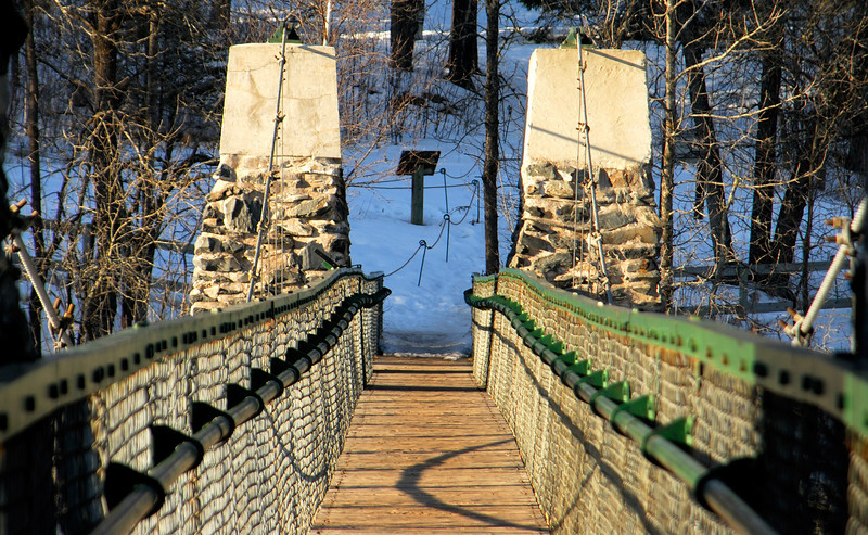 Swinging Bridge - Jay Cooke State Park