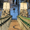 Swinging Bridge - Jay Cooke State Park