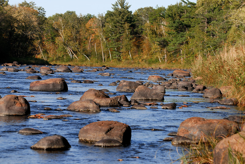 Low water on the Kettle River