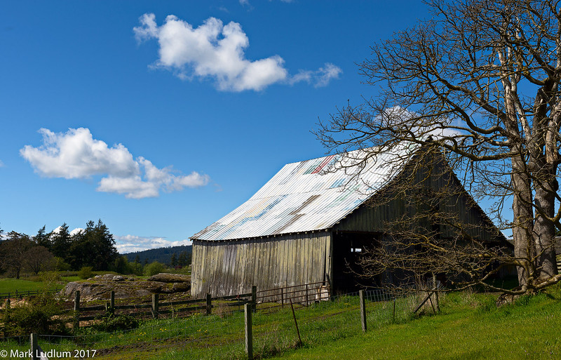 Red Mill Farm Barn San Juan Island 04-2017