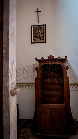6 Chiesa di San Giovanni Battista - Bagno Vignoni, Italy