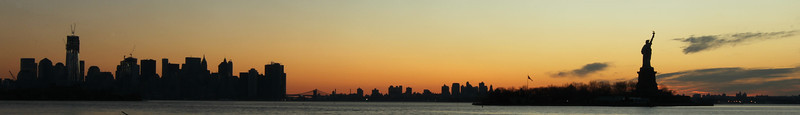 Statue of Liberty at Sunrise 1202