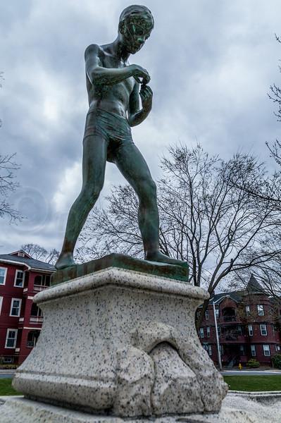 Chamberlain Fountain (The Fisher Boy)
