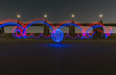 Light Painting the Sepulveda Dam