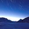 Nachthimmel am Bernina