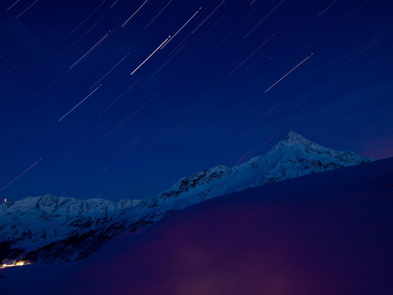 Engadiner Nachthimmel