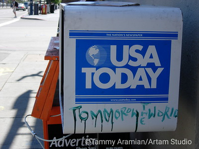 USA today, tommorow [sic] the world - San Francisco 2005