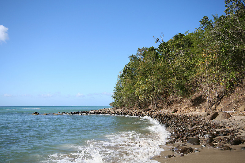 St. Lucia - Rocky Coast