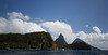 The Pitons and the Coast