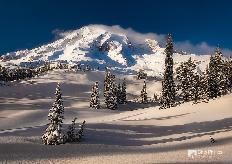 Mount Rainier Winter