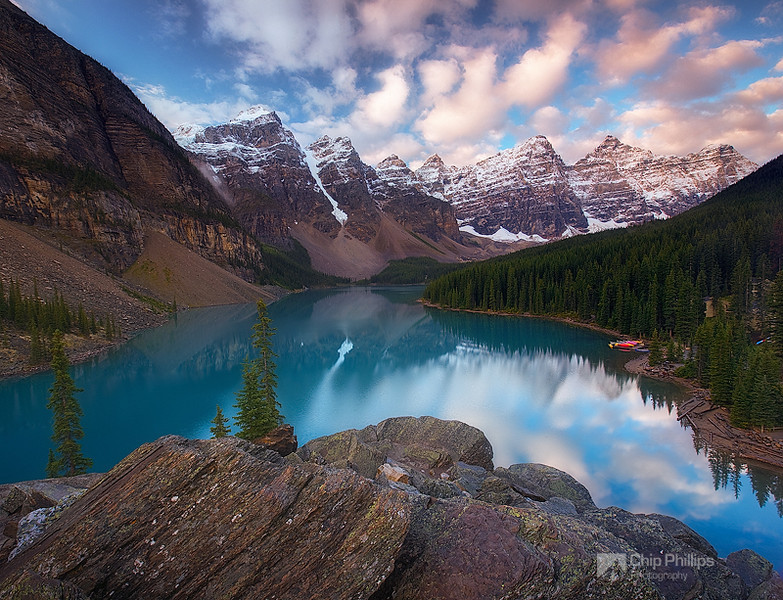 Moraine Lake Cloudscape #1
