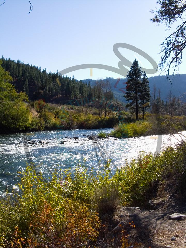 Truckee River in California