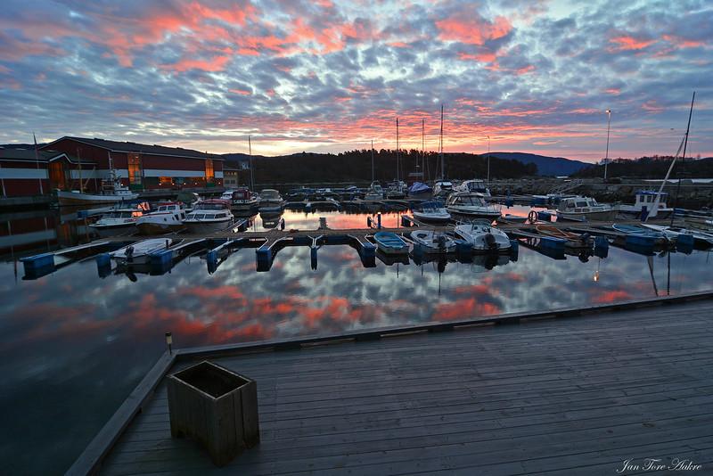 Morgen i Strandvik