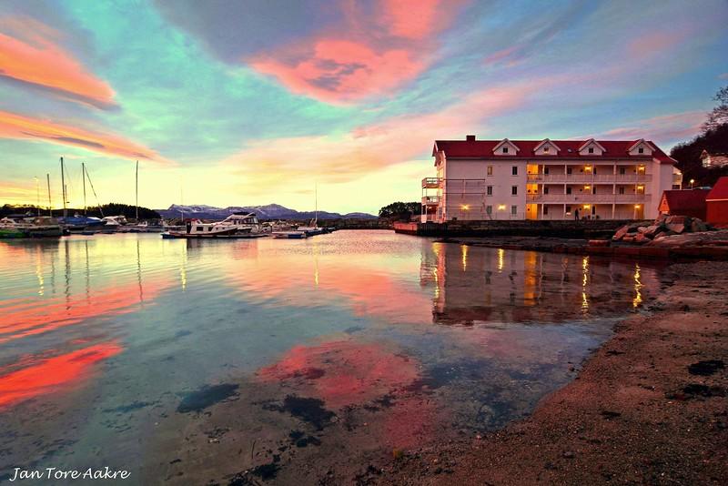 Morgenstemning ved Strandvik brygge