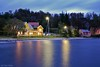 Handelslaget i Strandvik<br /> <br /> Evening in Strandvik