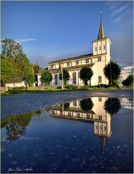 Strandvik kyrkje<br /> <br /> Strandvik church