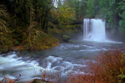 Upper North Falls, Silver Falls State Park, Oregon