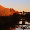 Railroad Bridge from Little Red River Bridge, Judsonia, Arkansas