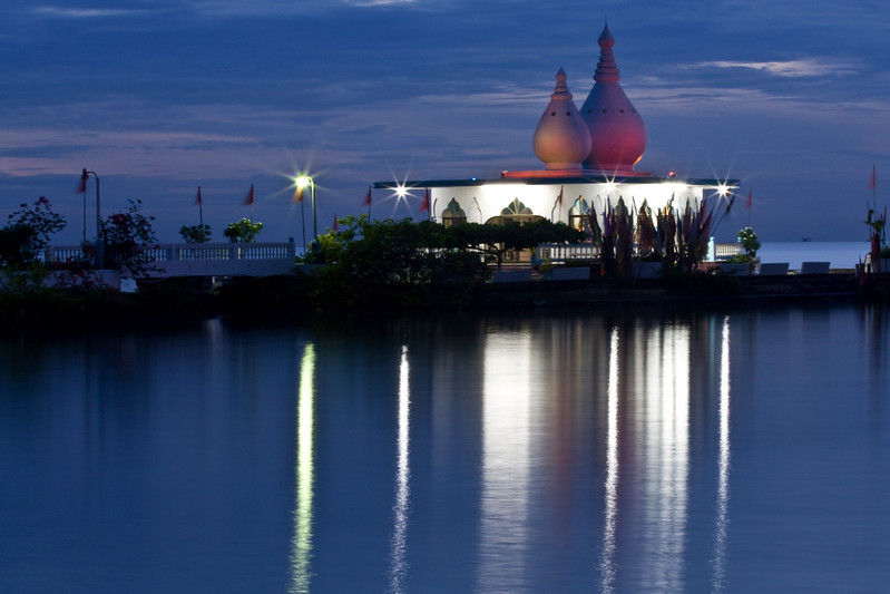 The Temple in the Sea (at dusk)