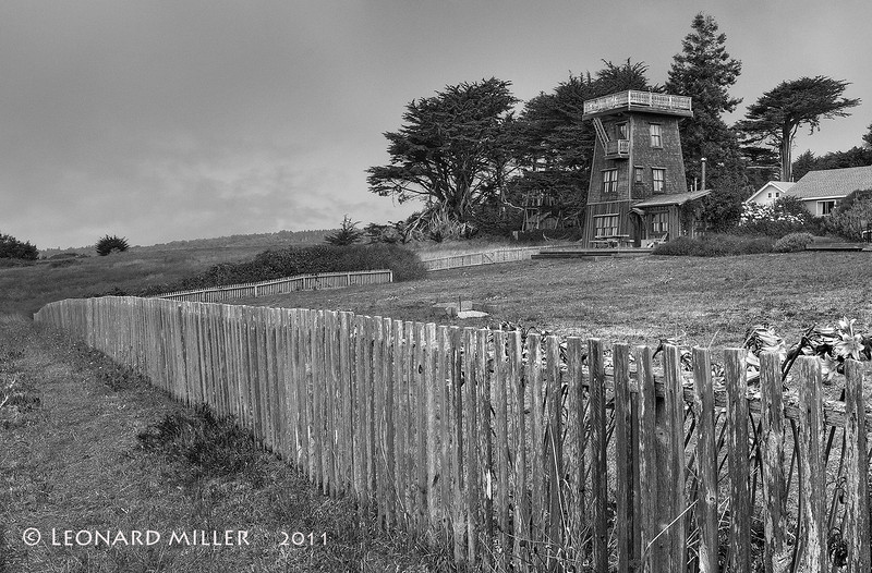 Water Tower House - Mendocino - 2011