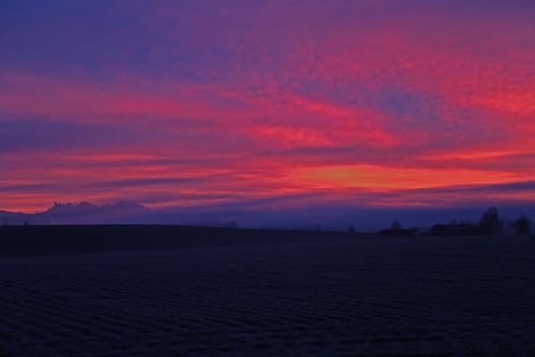 Sublimity Sunrise