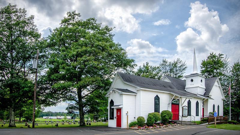 Blakeslee Methodist Church, Blakeslee, PA<br /> 1920 x 1080 px