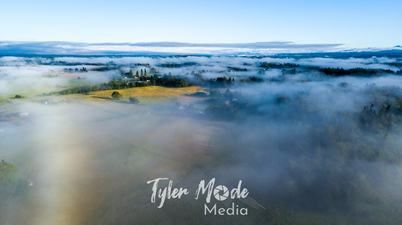 13  G Above Fog Drone