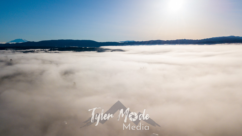 9  G Above Fog Drone