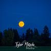 14  G Moonrise and Mt  Hood