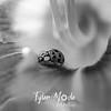 35  G Ladybug on Lily BW