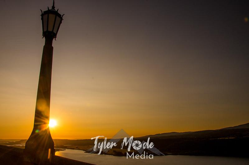 22  G Gorge Sunset Lamp