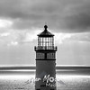 18  G North Head Lighthouse BW