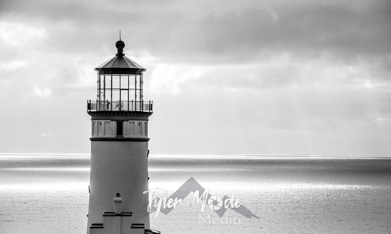 14  G North Head Lighthouse BW