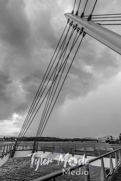 10  G Stormy Waterfront BW V