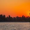 11  G Lacamas Lake Sunset