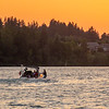 3  G Lacamas Lake Sunset Boaters