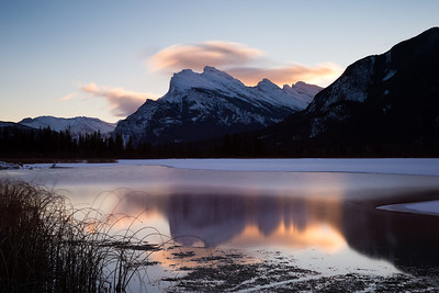 Sunrise at Vermilion Lakes, Banff