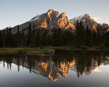 Mt. Kidd reflecting pool, Kananaskis