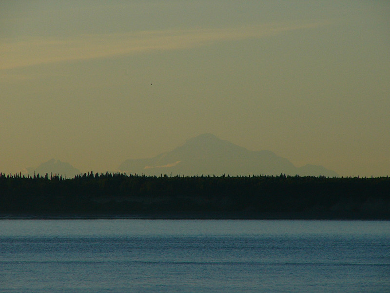 Denali thru the haze.