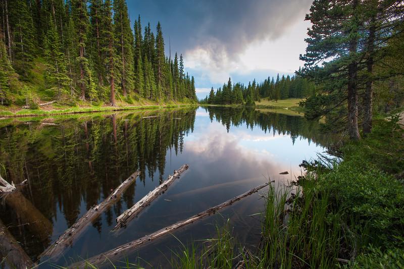 """Lake Irene"" Rocky Mountain National Park"