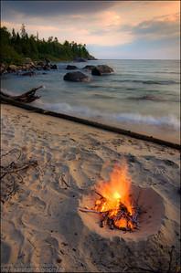 Katherine Cove.  Lake Superior Provincial Park, Ontario.
