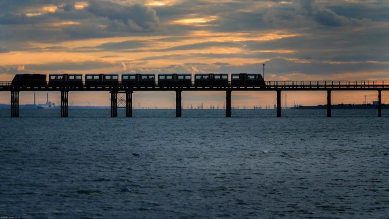 Sunset Pier Train